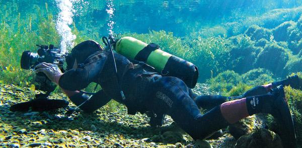 Prise de vue subaquatique